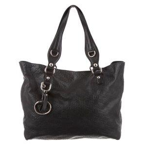GUCCI Guccissima Icon Bit Tote Bag